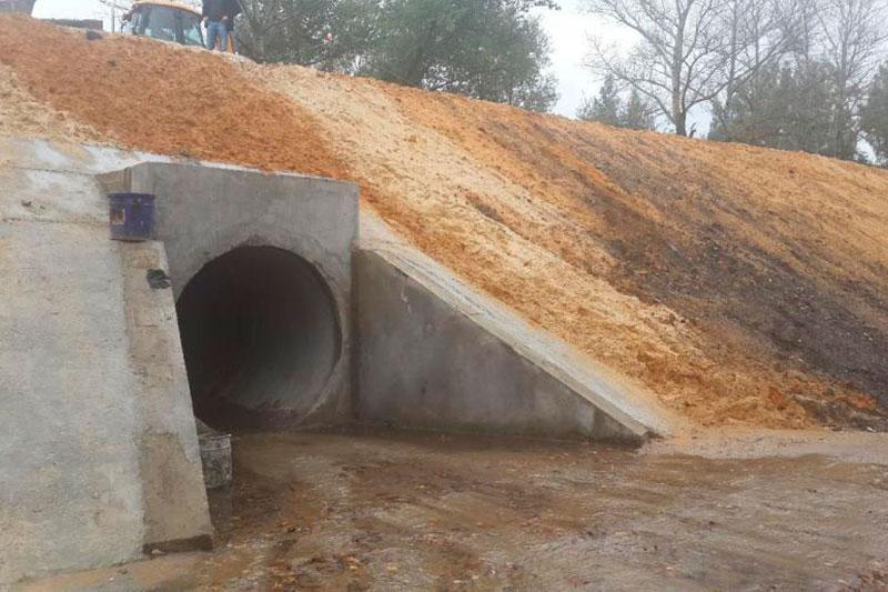 Проведён капитальный ремонт водопропускной трубы в Тепло – Огаревском районе Тульской области