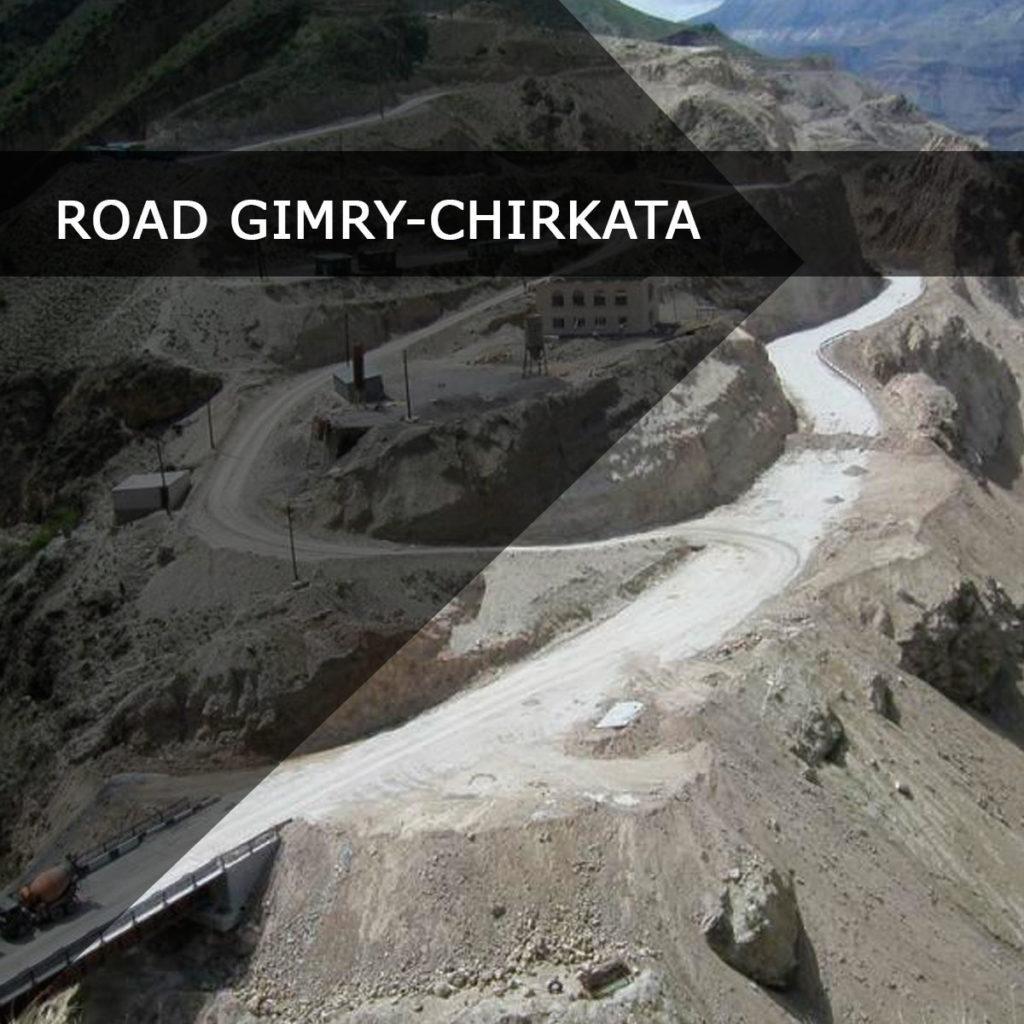 Gimry-Chirkata highway