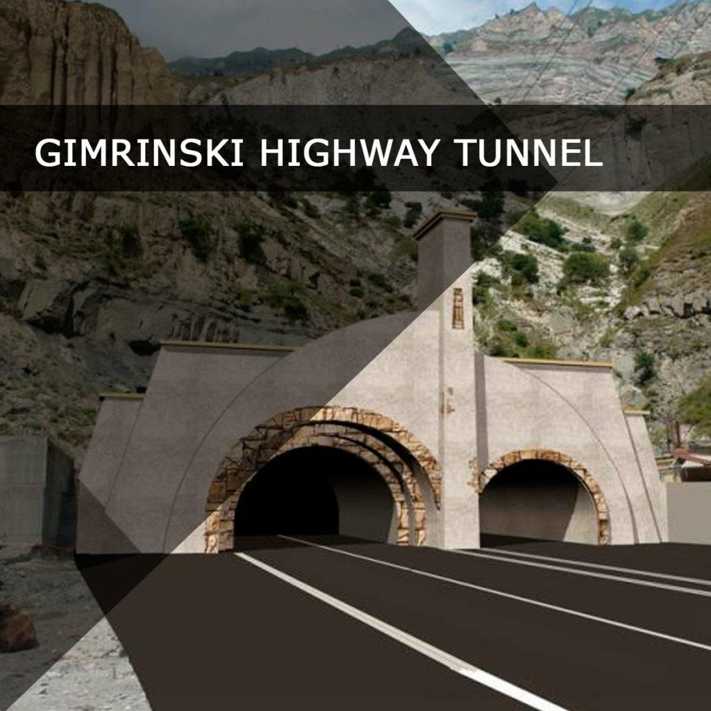 Gimrinski highway tunnel