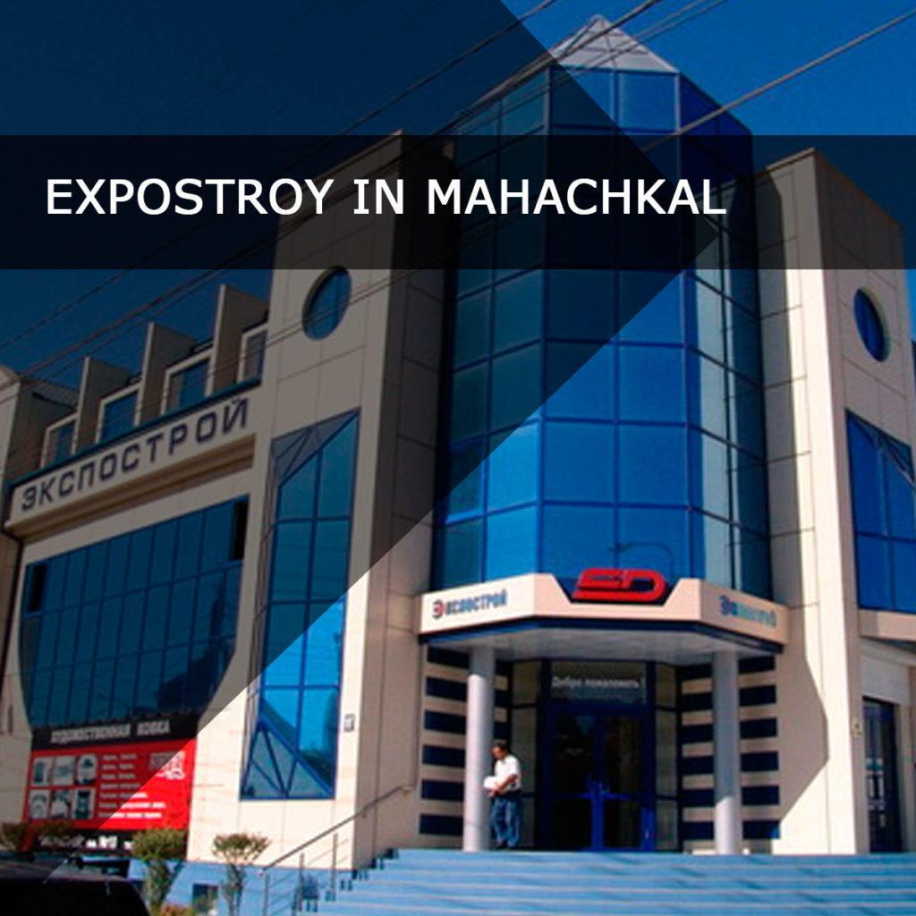 Ekspostroj complex in Makhachkala