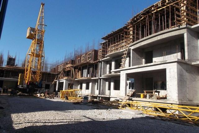 Multi-storey residential building in Makhachkala