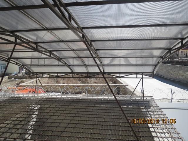 Строительство изолятора временного содержания в с. Леваши