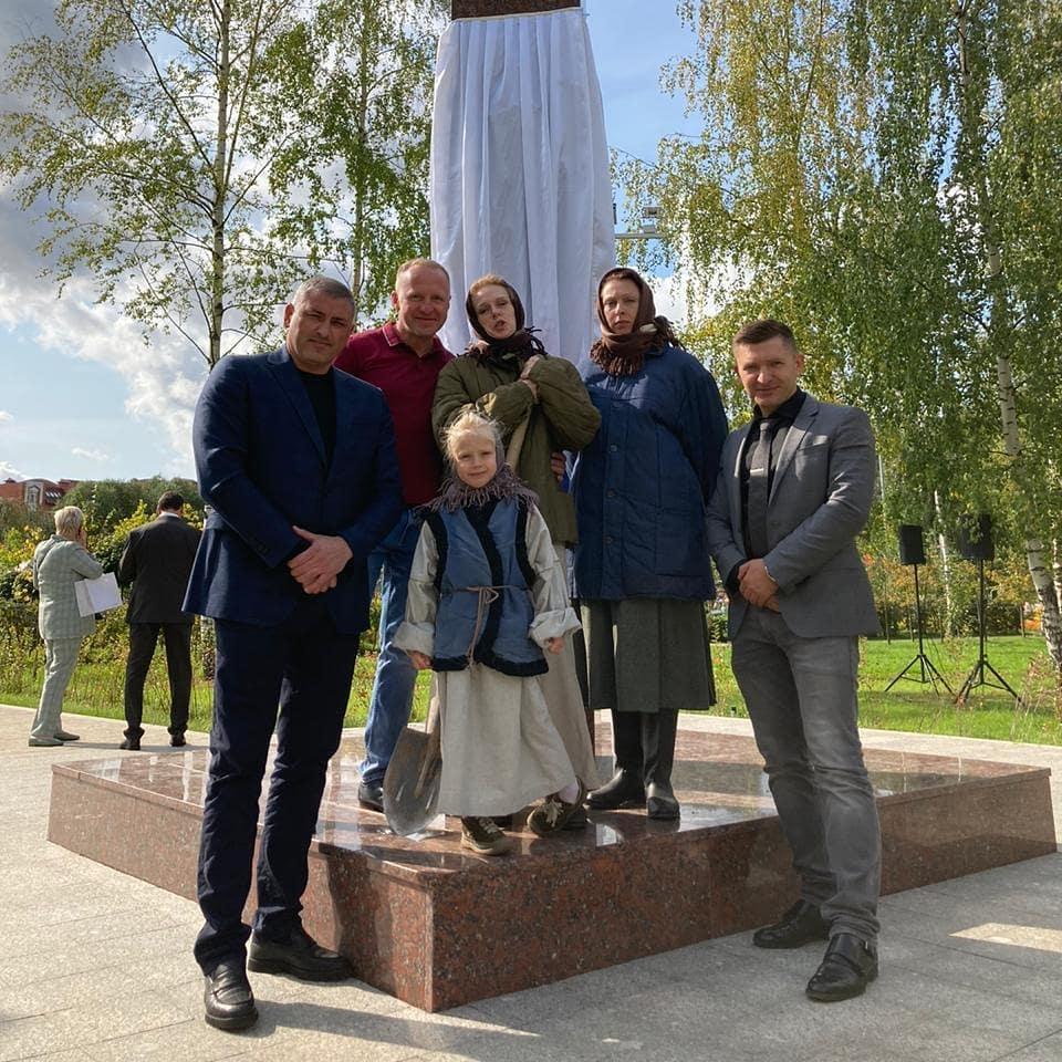 Открытие стелы воинской доблести в Лобне