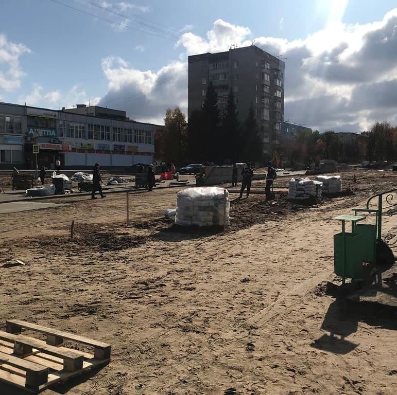 Реконструкция улицы Садовая в Кашире